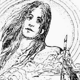 Pen & Ink self portrait.DavidD'Gilead